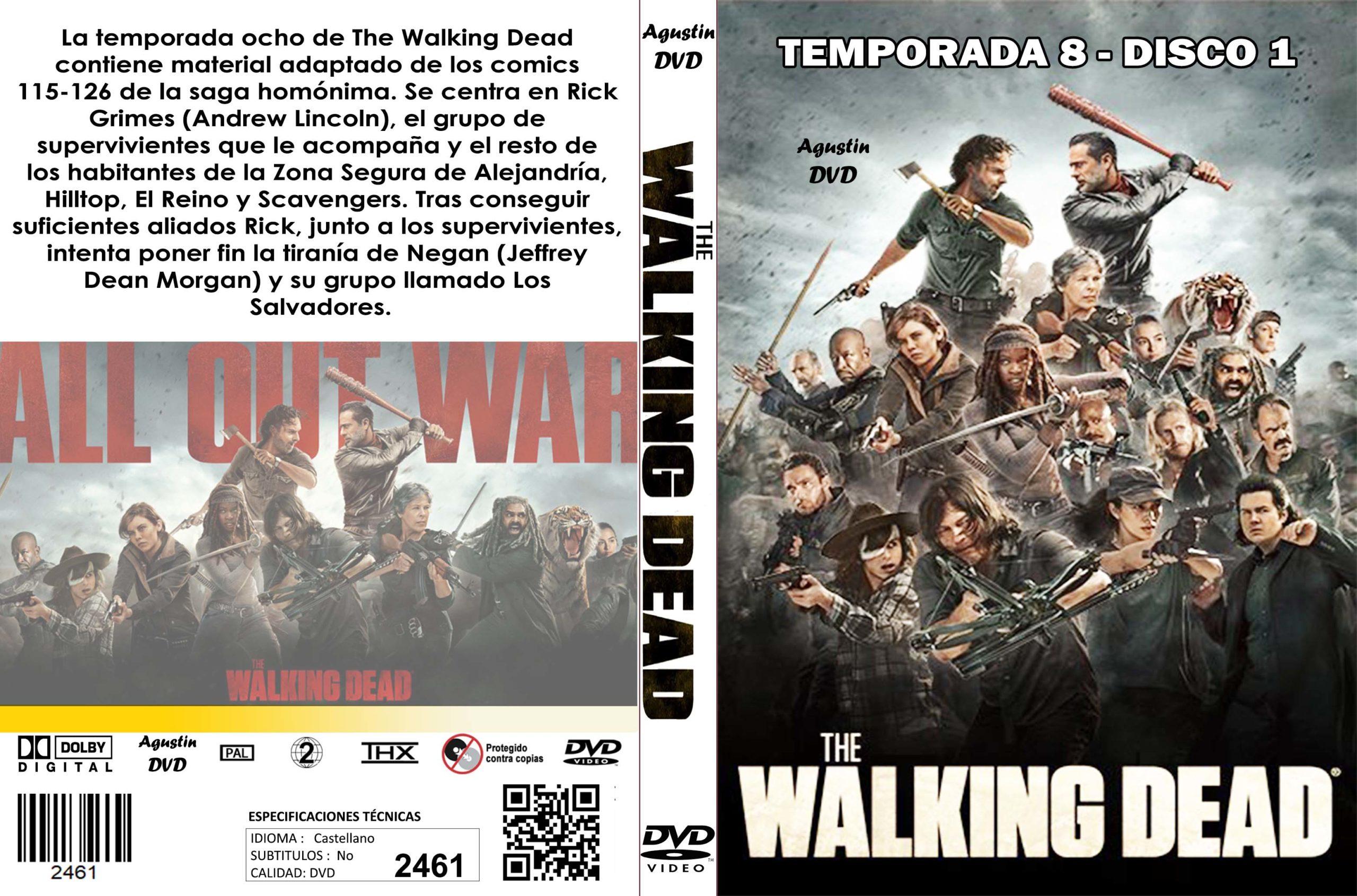 2461 The Walking Dead Temporada 8 Disco 1 Catalogo Dvd